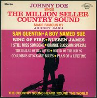 Johnny Doe - Sings The Million Seller Country Sound Made Famous By Johnny Cash